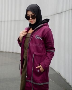 Hijacket Aurelia BURGUNDY XL
