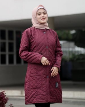 Hijacket Belva HJ-BLV-RED-BURGUNDY-XL