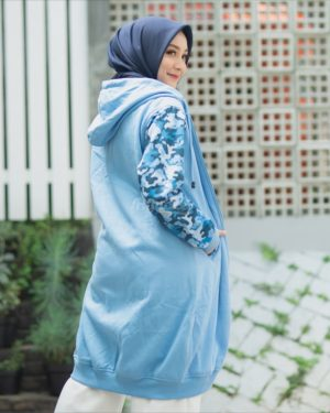 Harga Hijacket Camouflashion HJ-CF-SKY-BLUE