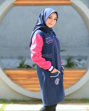 Hijacket Qadira HJ-QD-ROYAL-PINK-XL
