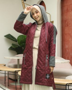 Hijacket Queenbee HJ-QNB-MAROON -XL