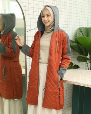 Hijacket Queenbee TERACOTTA  XL
