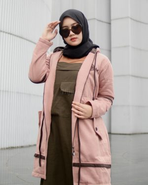 Jaket Model Baru Aurelia HJ-AUR-BROWN