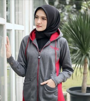 Jaket Model Baru Avia HJ-AVA-DARK-GREY-XXL
