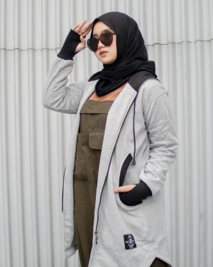 Jaket Model Baru Elektra HJ-ELK-GREY-XL