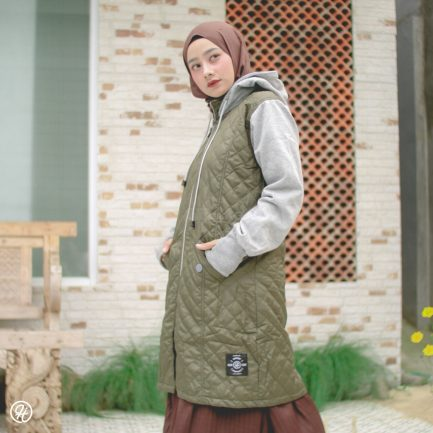Jaket Model Baru Gracieela HJ-GRC-GREEN-XL