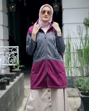 Jaket Model Baru Hyura HJ-HYR-PURPLE-XL