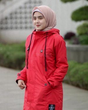 Jaket Model Baru Ixora HJ-IXR-CRIMSON-XL