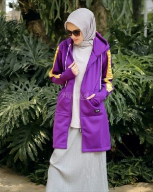 Jaket Model Baru Naura HJ-NR-PURPLE