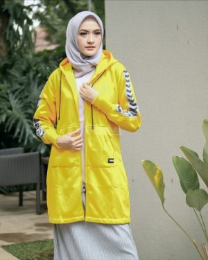 Jaket Model Baru Naura HJ-NR-YELLOW