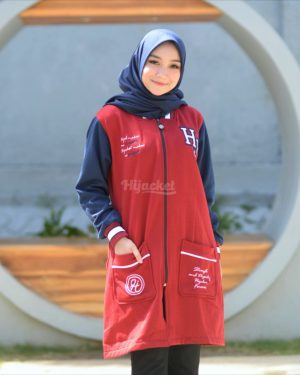 Jaket Model Baru Qadira HJ-QD-RUBY-BLUE-XL