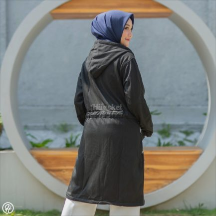 Jaket Model Baru Urbanisashion HJ-UB-RAVEN-BLACK-XXL