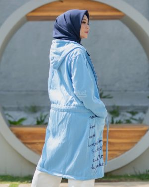 Jaket Model Baru Urbanisashion HJ-UB-SKY-BLUE-XXL