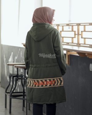 Jaket Model Baru Vendulum HJ-VD-OLIVE-GREEN