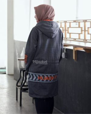 Jaket Model Baru Vendulum HJ-VD-WOLF-GREY -XL