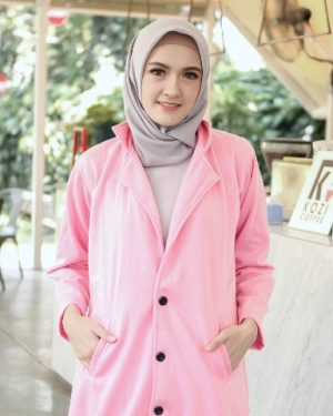 Jaket Casual Wanita Elma HJ-EL-PEACHINK-XL