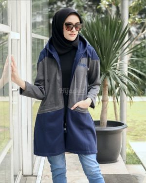 Jaket Casual Wanita Hyura HJ-HYR-ROYAL-BLUE-XL