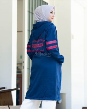 Jaket Distro Wanita Beautix HJ-BX-ROYAL-BLUE-XXL