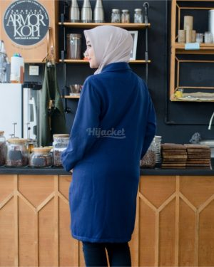Jaket Distro Wanita Elma HJ-EL-BLUEBERRY-XL