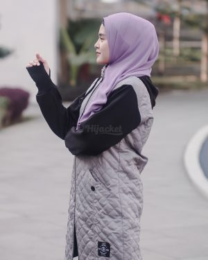 Jaket Distro Wanita Gracieela HJ-GRC-GREY-XL