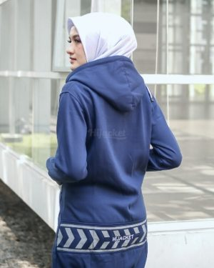 Jaket Distro Wanita Yukata HJ-YK-ROYAL-BLUE-XL