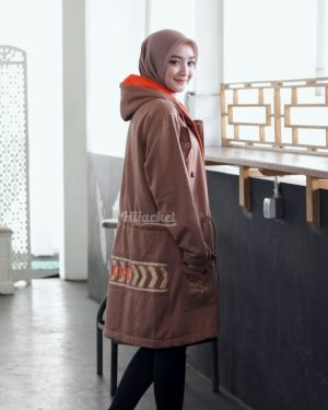 Jaket Hijabers Vendulum HJ-VD-CINNAMON-BROWN-XL